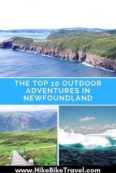 Die Top 10 Outdoor-Abenteuer in Neufundland geteilt durch Career Path Design. – … The Top 10 Outdoor Adventures in Newfoundland shared by Career Path Design. Pvt Canada, Visit Canada, Canada Trip, Newfoundland Canada, Newfoundland And Labrador, Newfoundland Tourism, Nova Scotia, Quebec, Vancouver