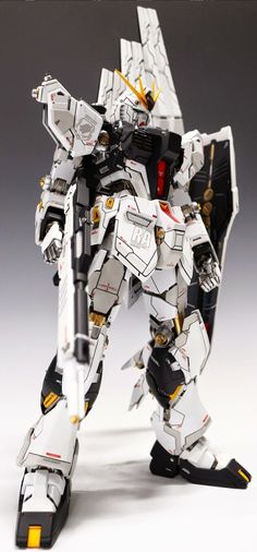 GUNDAM GUY: MG 1/100 RX-93 Nu Gundam Ver. Ka - Customized Build