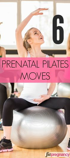 Pilates Mama Slideshow Great to remember! These 6 prenatal Pilates moves can really soothe pregnancy symptoms, increase mood, and boost energy. Ah, these are the fitness ideas we LOVE. Prenatal Pilates, Pregnancy Pilates, Pilates Moves, Prenatal Workout, Mommy Workout, Pregnancy Workout, Pregnancy Fitness, Fitness Pilates, Pregnancy Health