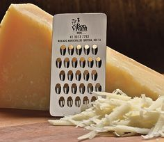 30 Of The Most Creative Business Cards Ever - #Cheese grater business card