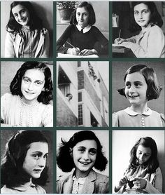 Anne Frank (June 12, 1929 - March 1945)