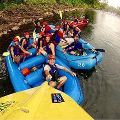 Gear up for a wild ride! Super fun day rafting down the Sarapiqui River via @oscar_arguedas! #CostaRica #adventures #crexperts