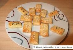 Gluténmentes sós keksz