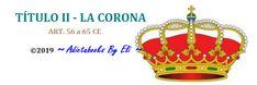 La Corona | Título II de la CE – Agente de Hacienda Pública Christmas Ornaments, Holiday Decor, King Queen, Haciendas, Crowns, Christmas Ornament, Christmas Topiary, Christmas Decorations