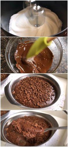 Mousse FIT de Chocolate (Low Carb) #mousse #fit #chocolate #receita #gastronomia #culinaria #comida #delicia #receitafacil