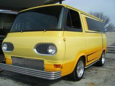 1965 Ford Van Cool Trucks, Big Trucks, Old School Vans, Vanz, Day Van, Old Ford Trucks, Panel Truck, Cool Vans, Vans Style