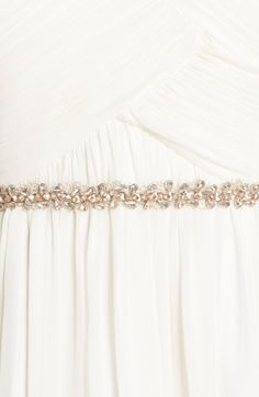 Main Image - Camilla Christine Narrow Jeweled Belt