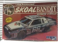 MPC VINTAGE Phil Parsons SKOAL Bandit Monte Carlo SS  Model Kit 1/25 1985 Rls #MPC
