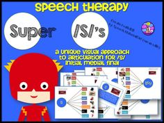 speech therapy. /S/ Articulation practice with visual organizers. Initial, Medial, Final words. 13 sheets and 1 visual/verbal cue card. #speechtherapy #articulation