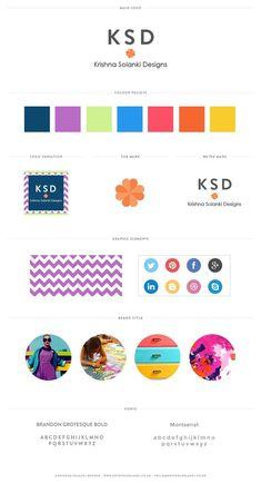 Krishna Solanki Designs - Brand Board