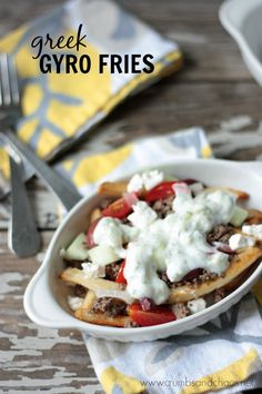 Greek Gyro Fries | C