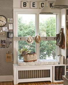 Healthy living at home sacramento california jobs opportunities Office Inspiration, Window Benches, Window Seats, Window Nooks, White Built Ins, Make A Closet, Cool Bookshelves, Living At Home, Traditional House