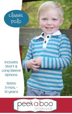 Classic Polo PDF Sewing Pattern