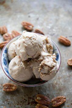 Maple Pecan ice Cream (Vegan)