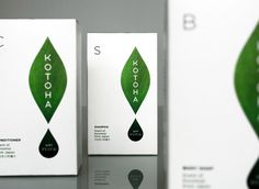 "Kotoha. A new ""Forest-bathing"" brand from Japan. Designed by T-Square Design Associates"