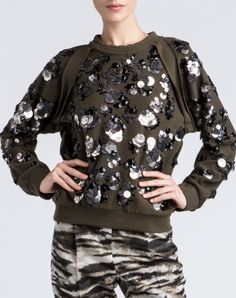 Lanvin - EMBROIDERED SWEATSHIRT - Ready-To-Wear - Women