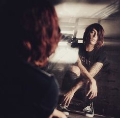 Kellin Quinn in the better off dead music video.