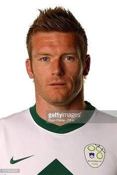 Matej Mavric of Slovenia poses poses during the official FIFA World Cup 2010 portrait session on June 9 2010 in Johannesburg South Africa