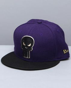 Punisher Grape Custom Snapback