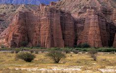 Mountain landscape at Cafayate North Argentina