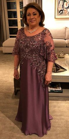 15 Excellent Mother Of The Groom Dresses is part of Wedding dress guide - We are sharing an exciting selection of gorgeous mother of the groom dresses in various colors, designs, styles and sizes! Mother Of The Bride Plus Size, Mother Of The Bride Dresses Long, Mother Of Bride Outfits, Mothers Dresses, Grooms Mother Dresses, Long Mothers Dress, Grooms Mom Dress, Bride Groom Dress, Brides Mom Dress