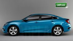 New 3D renderings of the 2016 Civic - 10th Gen Civic Forum