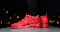 Sizes left for the Nike Air Max 90 Ultra Moire Bright Crimson. http://ift.tt/1m8k8i4