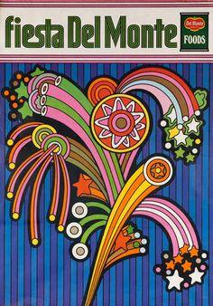 1969 Del Monte Foods Fiesta Poster Fireworks https://www.facebook.com/pages/EXPONLINE/141220162699654