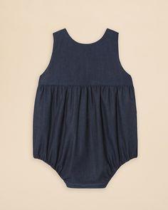 Jacadi Infant Girls' Denim Bodysuit