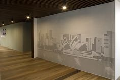 Key Graphix panels, perforated panels that create the picture or art work you are after, making a wall or ceiling come alive. In a variety of materials and a variety of perforations
