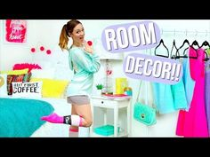 Summer Room Makeover! DIY Room Decor + Organization! AlishaMarie - YouTube