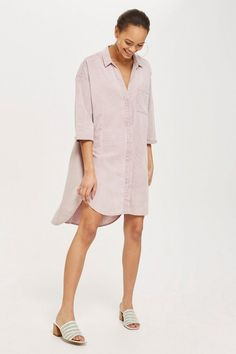 d5e36beea72 Shirt Dress by Native Youth - Dresses - Clothing - Topshop USA Dress Shirts  For Women