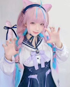 Kawaii Cosplay, Cat Cosplay, Cosplay Outfits, Anime Cosplay, Cosplay Girls, Female Pose Reference, Amazing Cosplay, Cute Girl Outfits, Female Poses