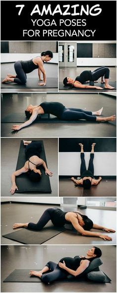 7 amazing yoga poses for pregnancy. Yoga poses for stretching and relaxation during pregnancy. 7 amazing yoga poses for pregnancy. Yoga poses to help you feel good, stretch and relax throughout pregnancy. Prenatal Workout, Pregnancy Workout, Pregnancy Tips, Pregnancy Stretching, Pregnancy Yoga Poses, Prenatal Yoga Poses, Pregnancy Pilates, Pregnancy Fitness, Pränatales Training