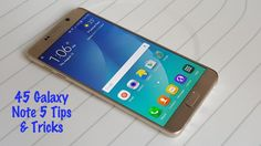 The Samsung Galaxy Note 5 is the latest flagship Android smartphone and it's packed full of features, tools, settings and tricks that every user needs to know about. Read on for 45 Galaxy Not… Galaxy Note 5, Galaxy Car, Samsung Galaxy, Newest Cell Phones, Apps, Tips & Tricks, Hacking Tricks, Phone Hacks, Diy Phone Case