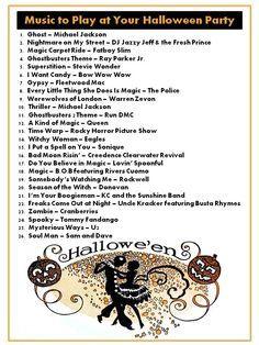 halloween music playlist what to play at your halloween party besides the monster mash - Halloween Music For Parties