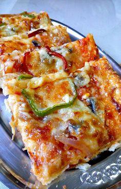 Cookbook Recipes, Cooking Recipes, Vegetable Pizza, Lasagna, Vegetables, Breakfast, Ethnic Recipes, Food, Kitchens