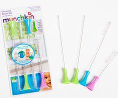Escovinhas para limpeza de canudos