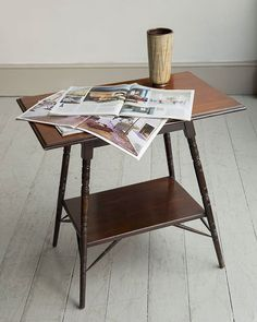 A mahogany occasional table with moulded edge the base stamped E WGodwin after Edward William Godwin English circa 1870 Godwin was one of the key figures of the Aesthetic Movement in England during the