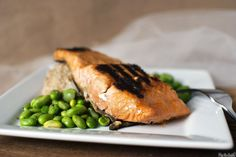 Grilled Miso Ginger Salmon