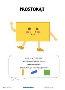 Figury - zadania i zabawy dla przedszkolaków - Pani Monia Diy And Crafts, Education, Speech Language Therapy, Therapy, Onderwijs, Learning