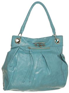 15DOLLARSTORE.COM - DOLLHOUSE Sweetheart Pleated Shoulder Bag (Teal)