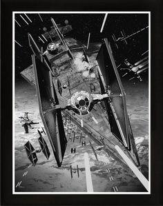 Stunning Star Wars 'Viewpoints' Art