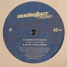 "Audiojazz - summer city nights (audiojazz music 12"")"