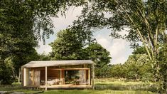 Gallery of Tiny House Made from Recycled Materials Begins Construction in Bali - 1 Tetra Pak, Little Big House, Tiny House, Architect House, Architect Design, House Of The Rising Sun, Studio Build, Bamboo Architecture, House Architecture