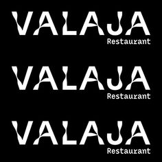 Earlier we posted the spatial and interior design we did for Valaja, so here is the rest! The quirky visual identity matches the overall… Cool Typography, Typography Design, Branding Design, Logo Design, Lettering, Graphic Design, Type Design, Web Design, Font Combos