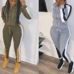 Color block design jogging suit Block Design, Vest Jacket, Suits For Women, Jogging, Color Blocking, Skirt Set, Capri Pants, Model, Jackets