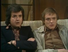 """England f....""  Bob and Terry, the Likely Lads."