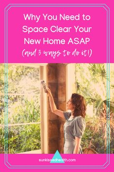 When you move into a home, it is important to space clear your new house to release any unhealthy energy blockages created by previous occupants. Spiritual Meditation, Spiritual Life, Spiritual Growth, Spiritual Practices, Negative Emotions, Do It Right, Spirit Guides, Spiritual Inspiration, Life Purpose