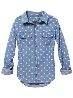 http://hamptonbay-lighting.net/hampton-bay-lighting-parts/ hampton bay lighting  polka dot denim shirt my-style-3